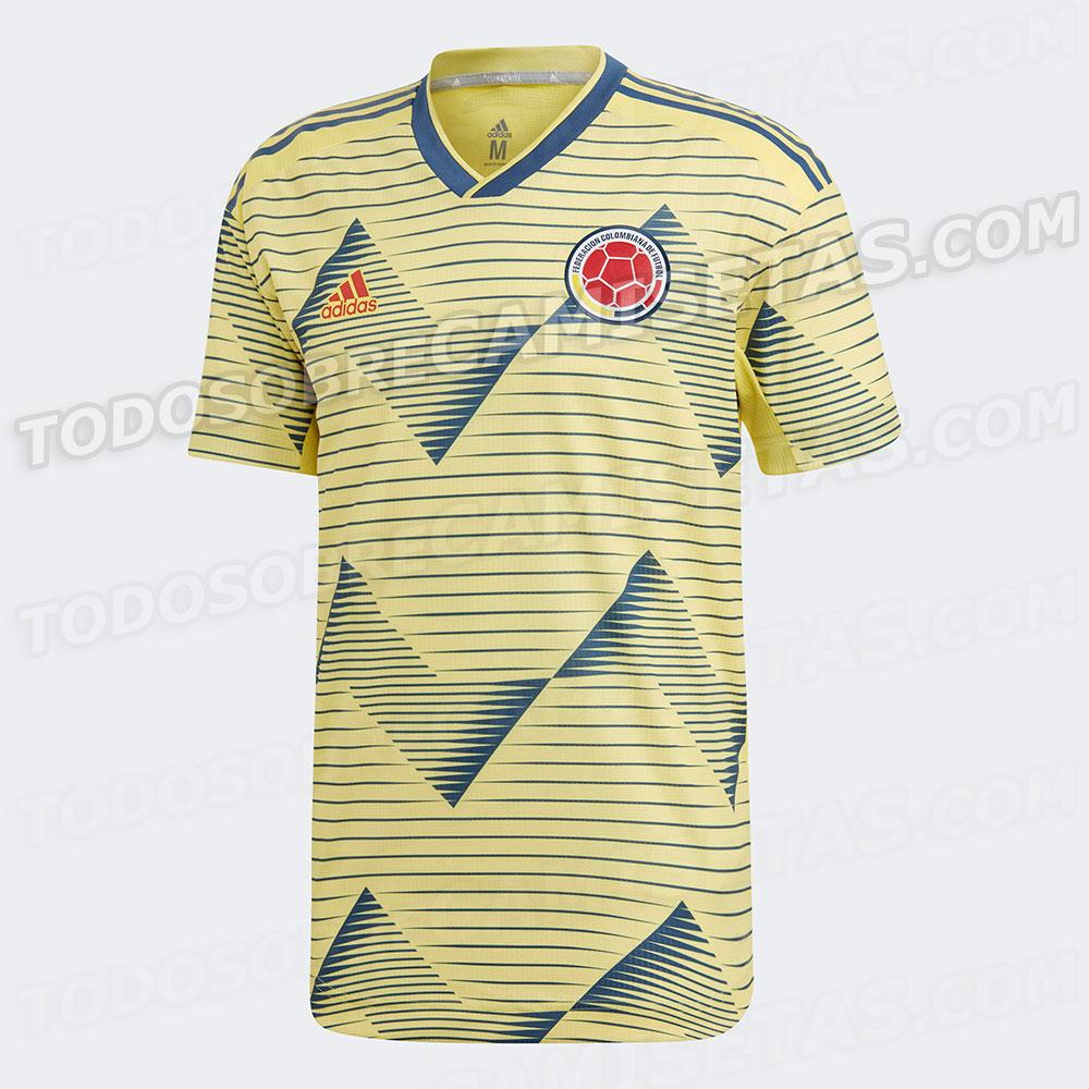 La que sería la nueva camiseta de la Selección Colombia para la Copa América