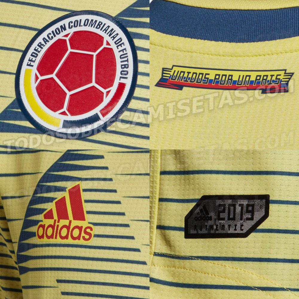 Detalles de la que sería la nueva camiseta de la Selección Colombia