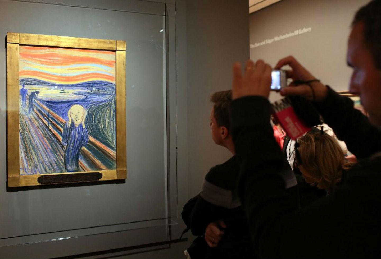 Figura en la obra de arte 'El grito' realmente no está gritando | RCN Radio