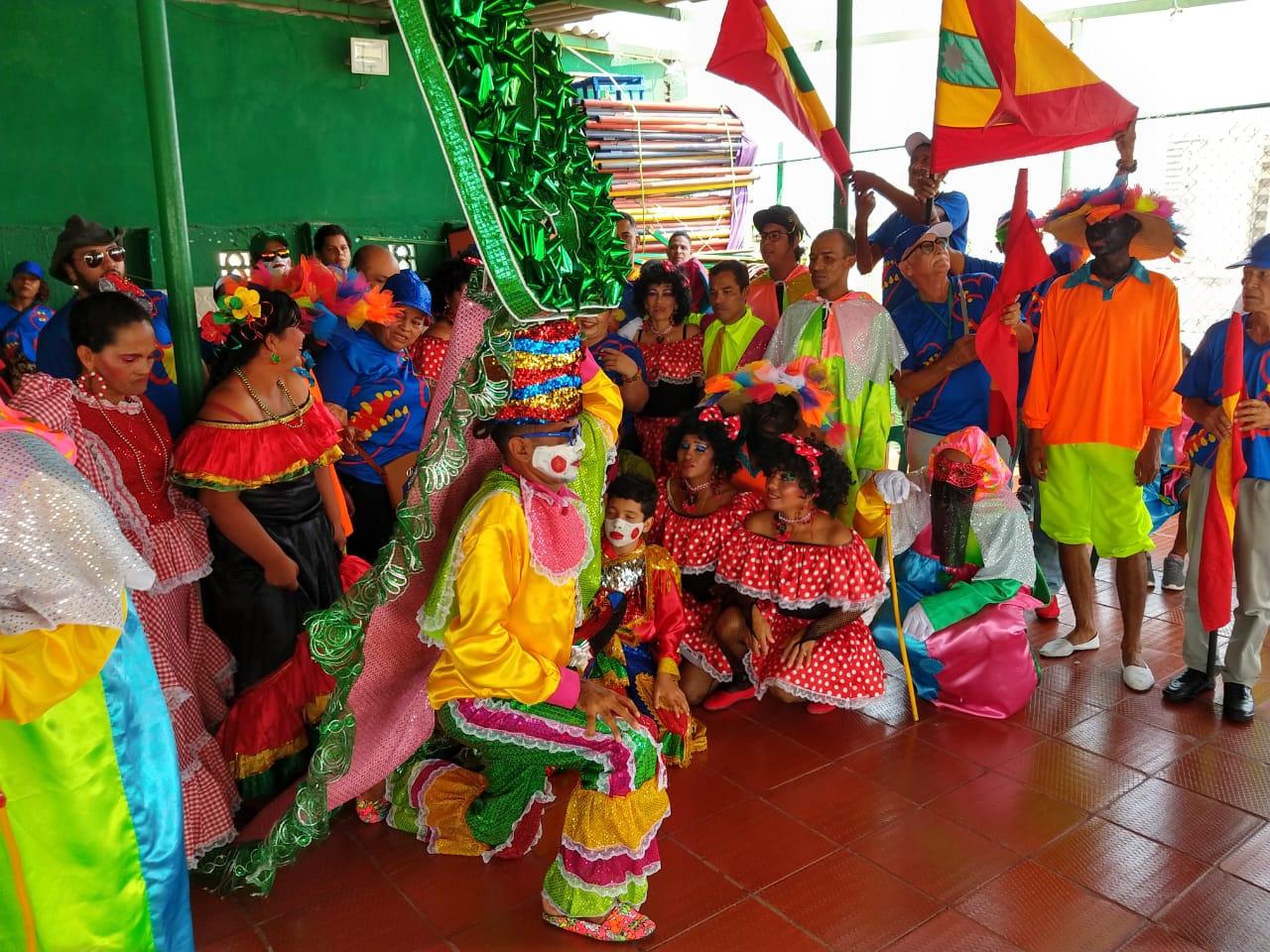 Hogar de paso en el carnaval de Barranquilla