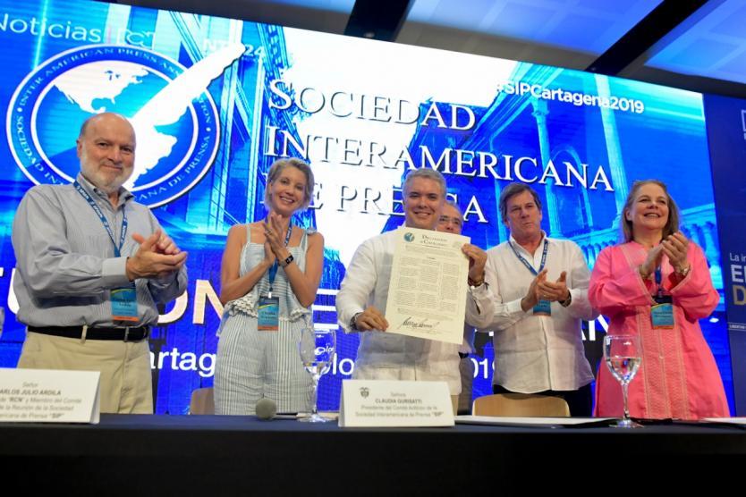 Esta declaratoria compromete a Colombia a la defensa de la libertad de Prensa