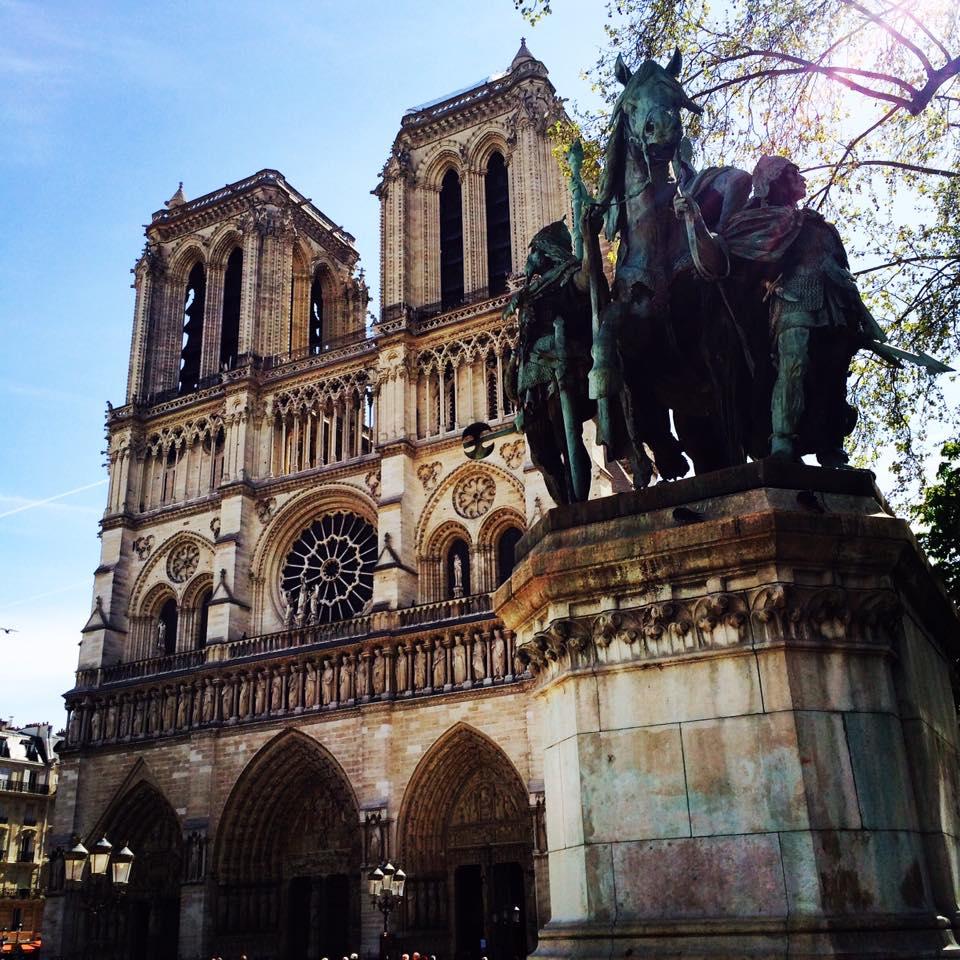 La Catedral de Notre-Dame en 2016