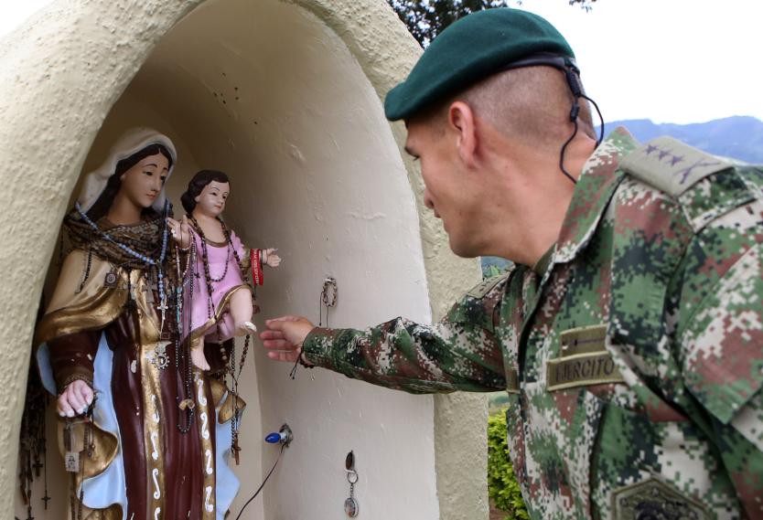 Virgen de los escapularios.