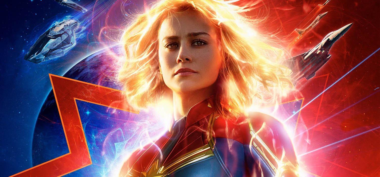 Brie Larson como la Capitana Marvel