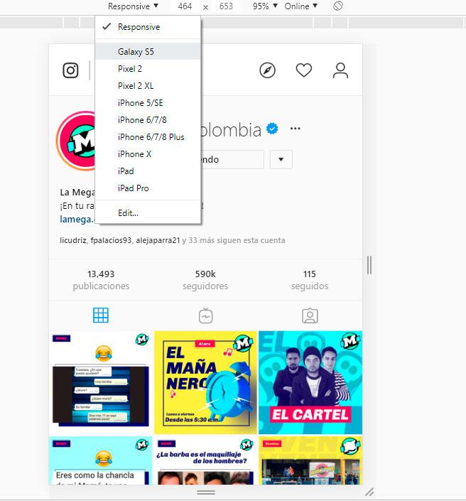 Instagram publicar en pc