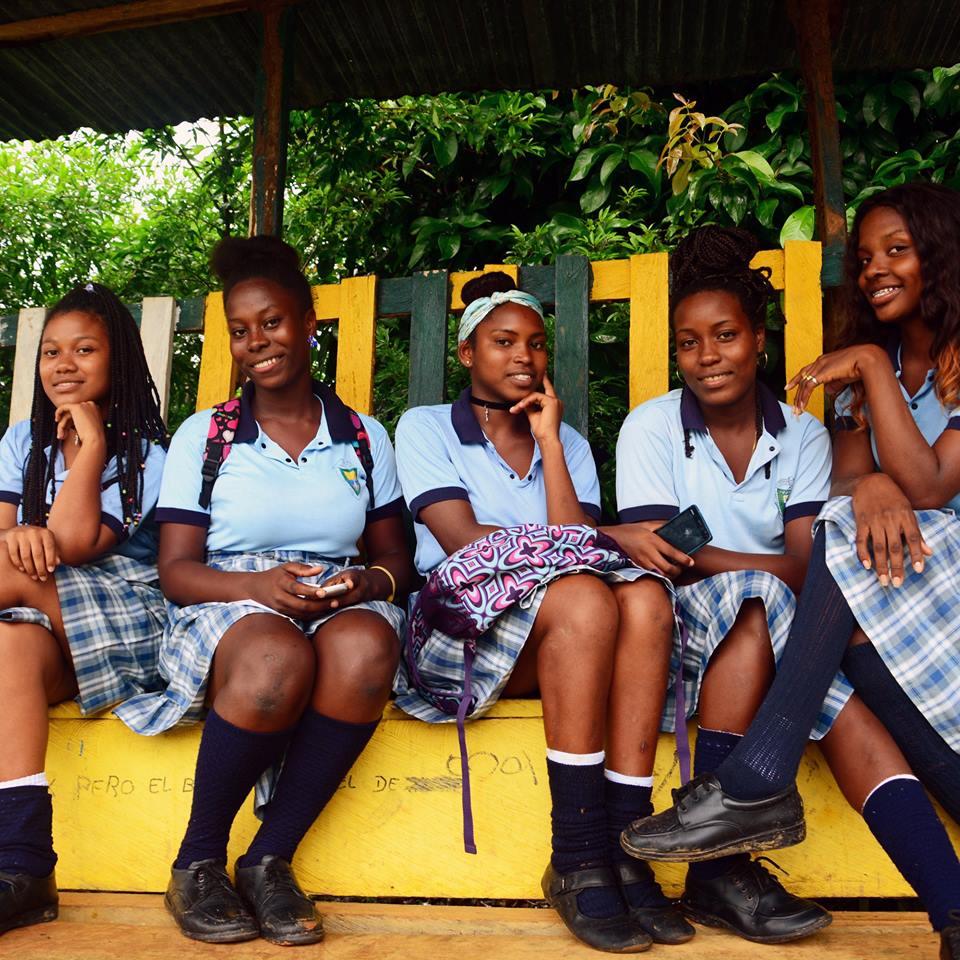 Estudiantes del departamento de Chocó