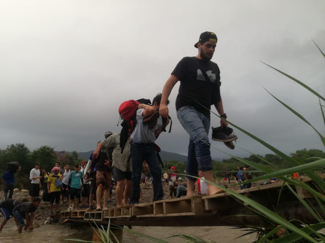 Situación actual en las trochas ilegales entre Colombia y Venezuela.