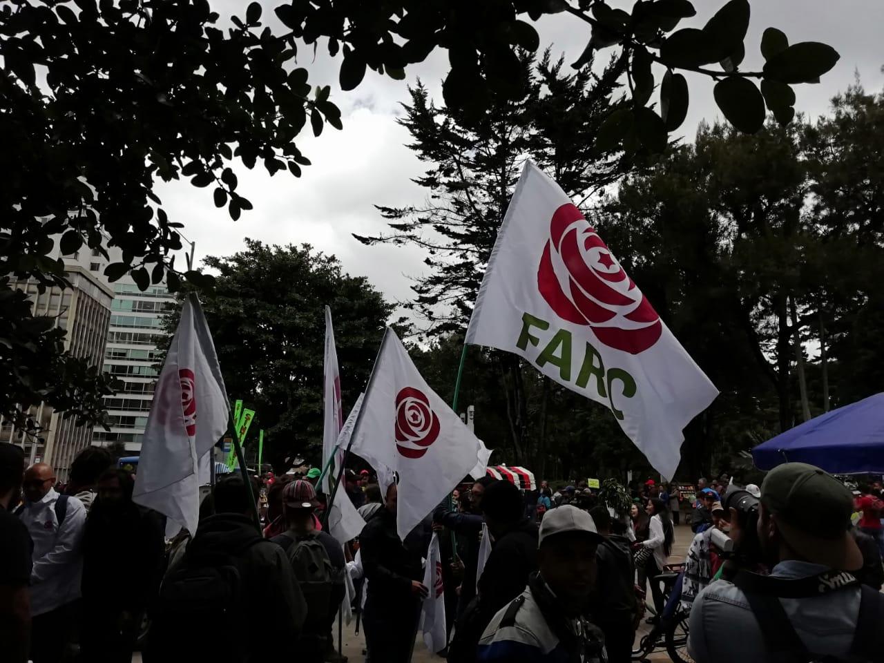 Movilizaciones en medio del paro nacional, convocado por las centrales obreras