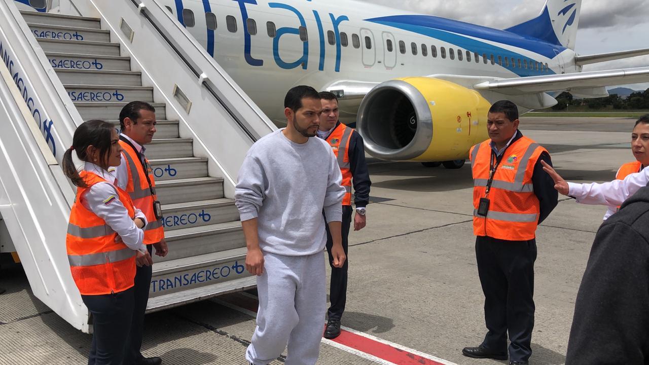 Abogado Leonardo Pinila, deportado a Colombia