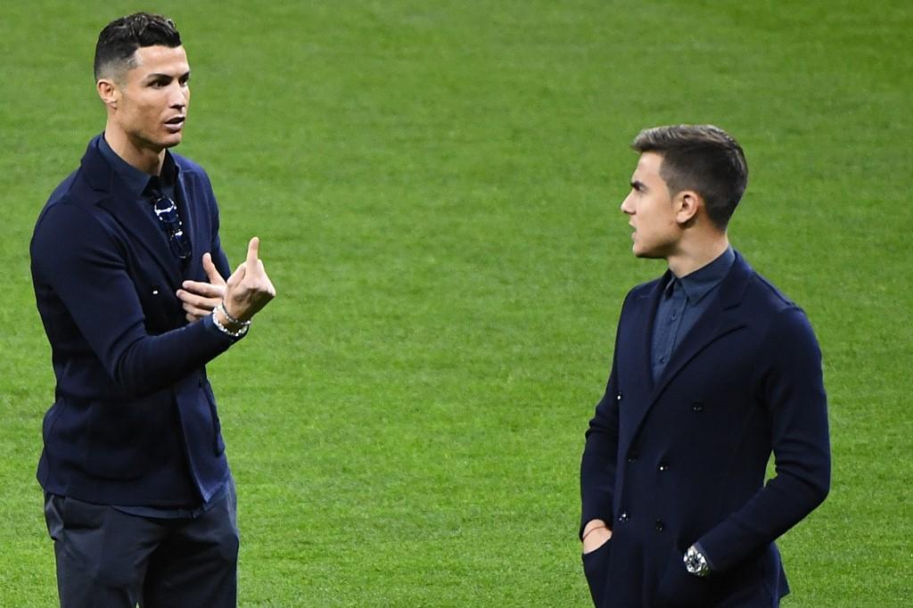 Cristiano Ronaldo y Paulo Dybala