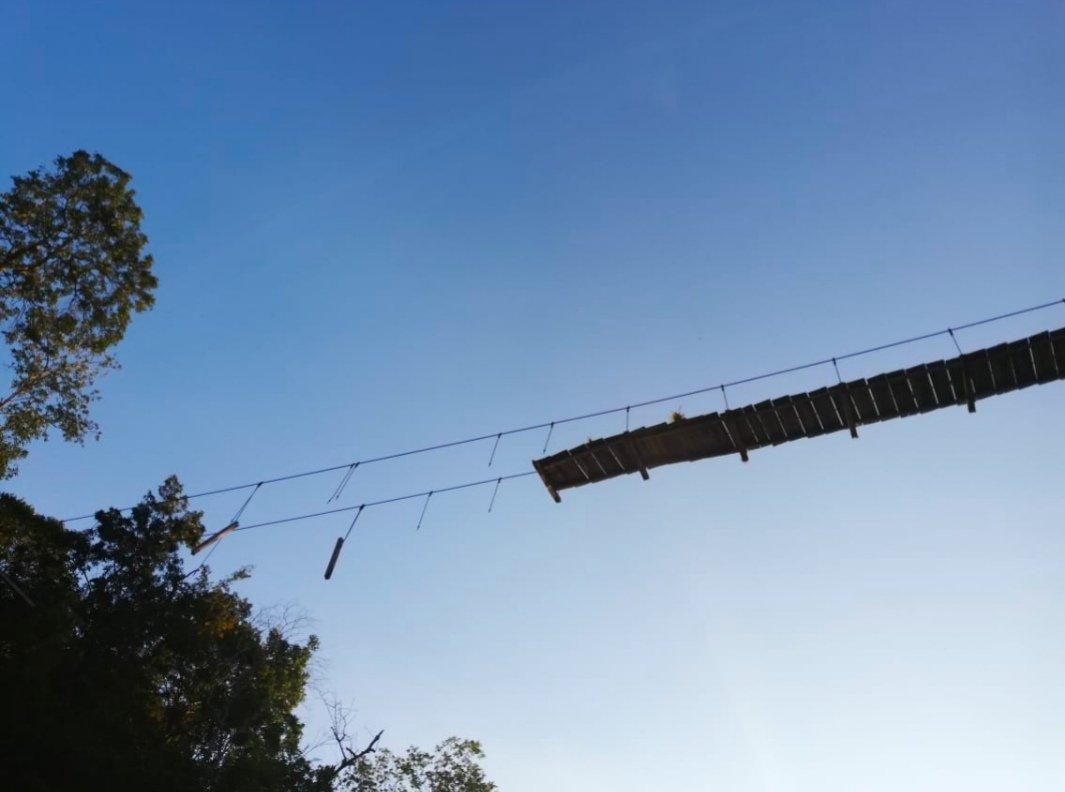 Puente afectado en el Municipio de Sardinata