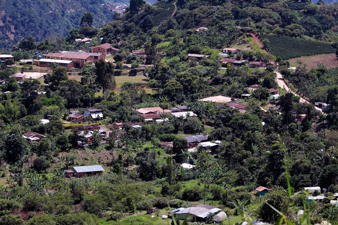 Resguardos indígenas del Suroeste de Antioquia.