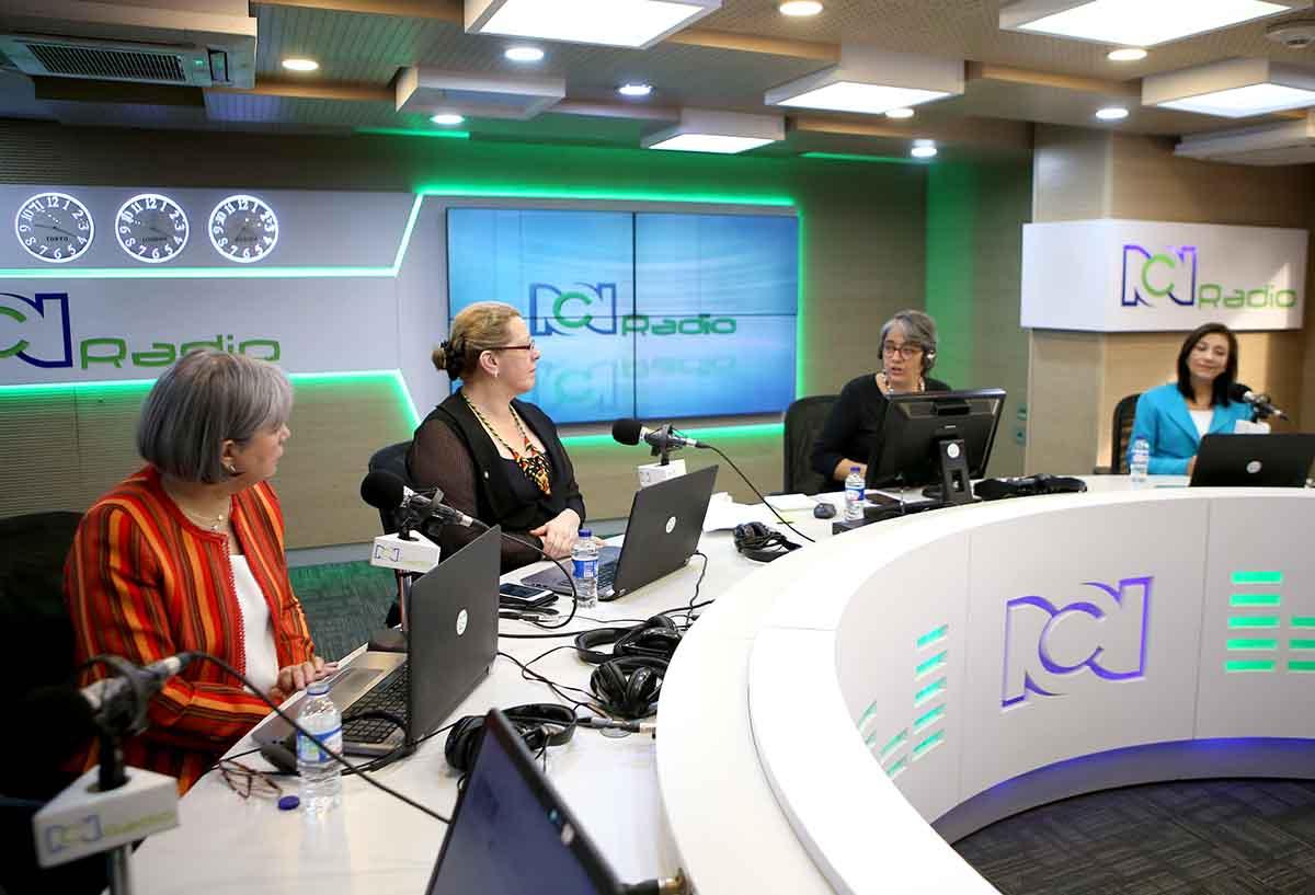 Presidentas de las altas cortes en RCN Radio