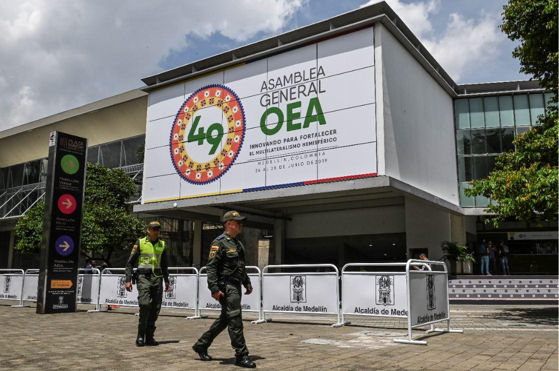 Medellín es sede de la Asamblea General de la OEA