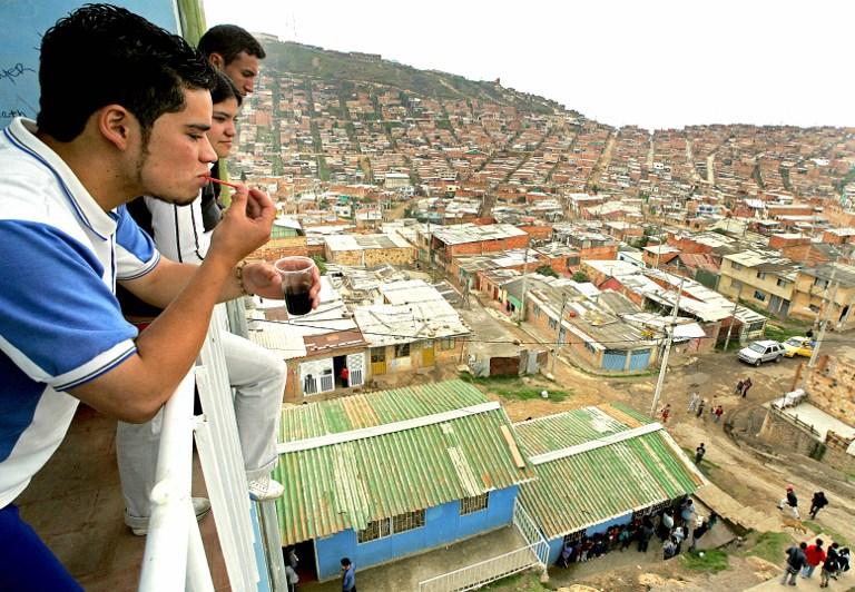 Localidad de Ciudad Bolívar, en Bogotá