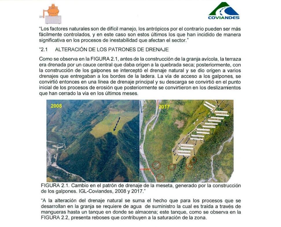 Informe Coviandes Km 58