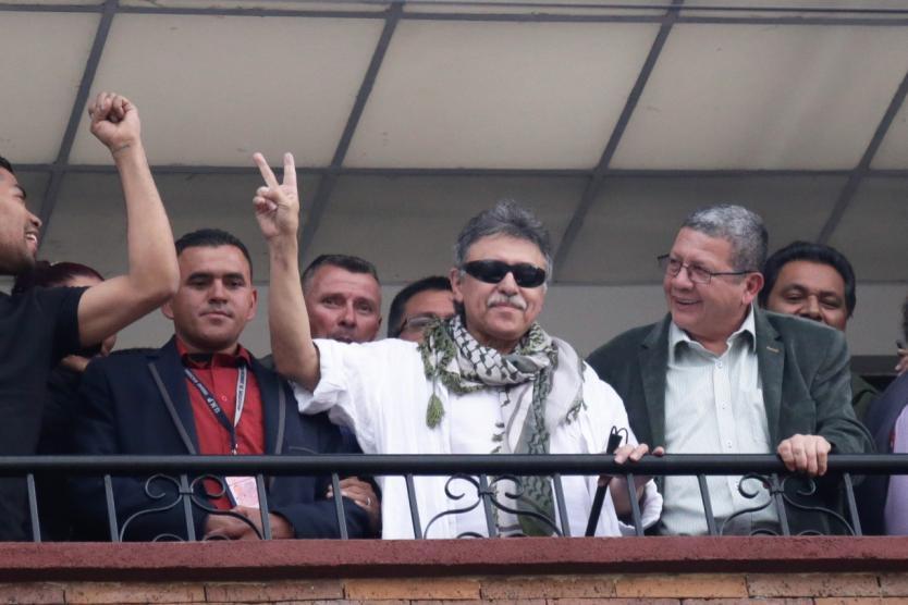 Santrich llegó a Valledupar