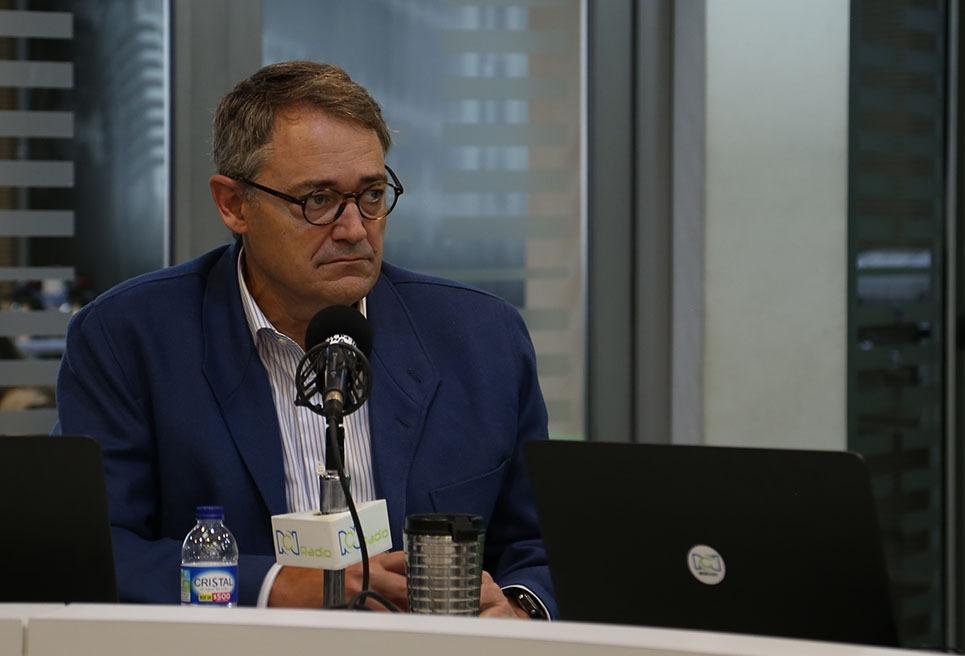 Óscar Cabrera, presidente del BBVA Colombia.