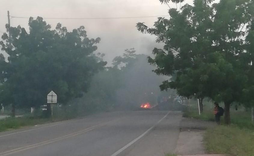 Disturbios en la población de Fonseca, en La Guajira