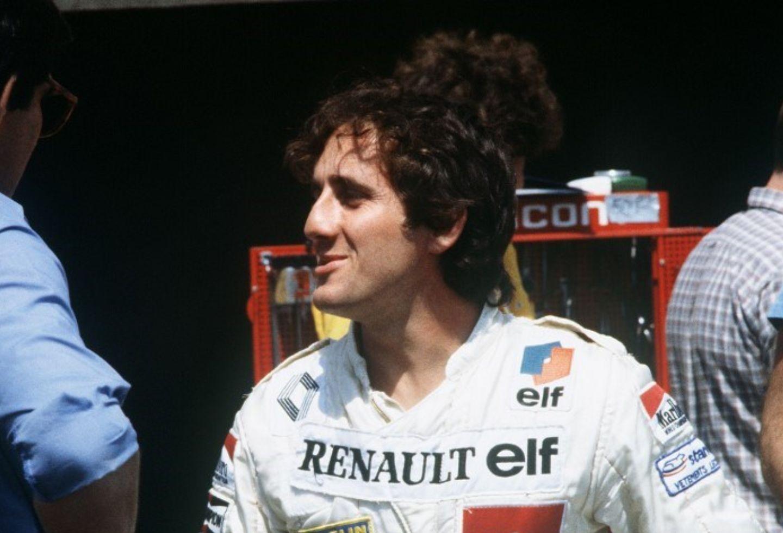 El ex campeón del mundo francés de Fórmula 1 Alain Prost 1