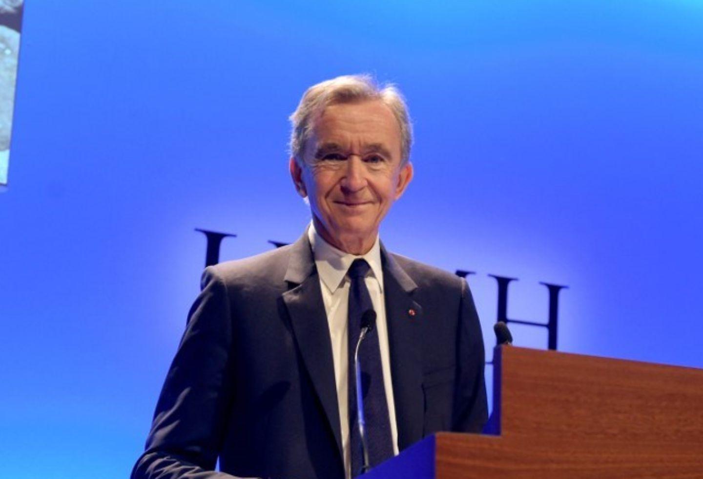 El empresario francés Bernard Arnault