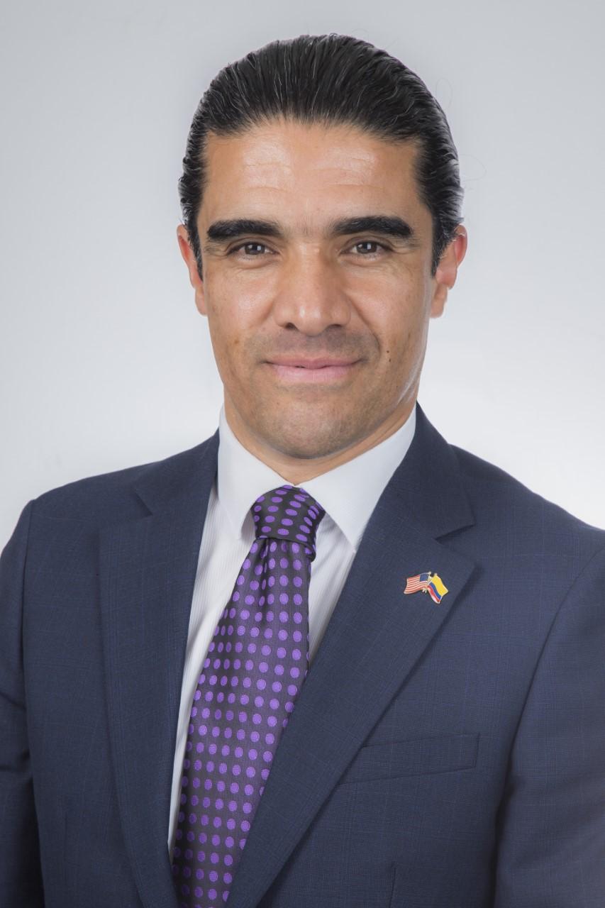 Édgar Pulido, director de oficinas en Colombia de Negocios USA.