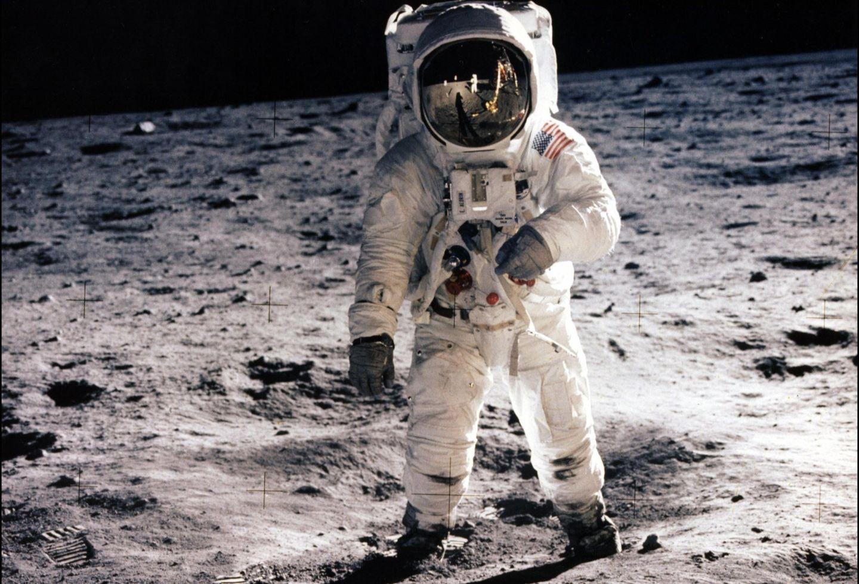 Buzz Aldrin, llegada del hombre a la Luna