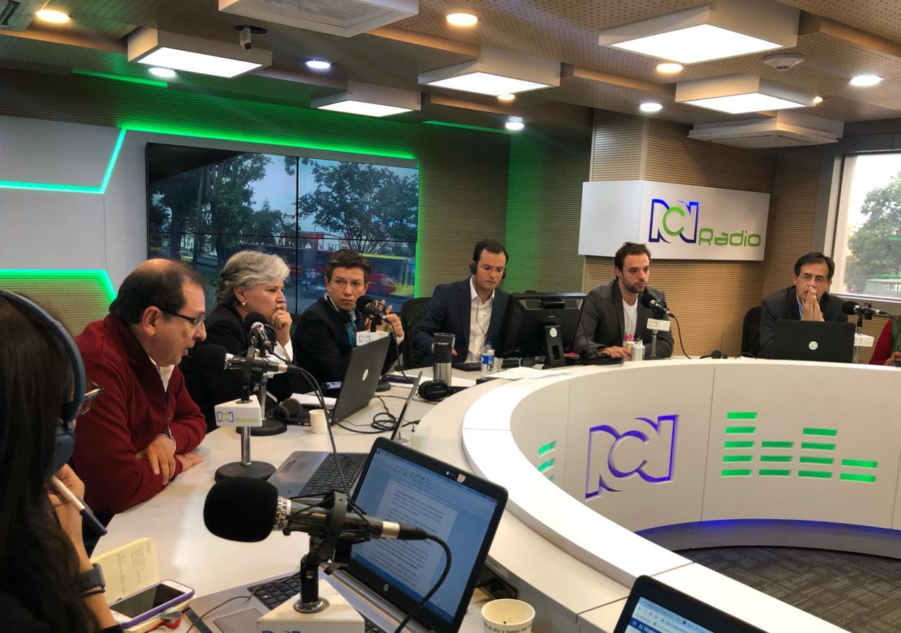 Candidatos de centro izquierda a la Alcaldía de Bogotá