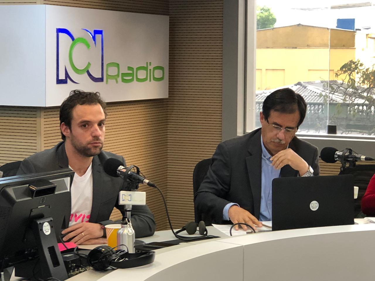 Luis Ernesto Gómez y Celio Nieves