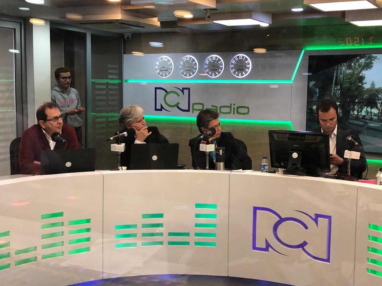 Debate con candidatos de centro izquierda a la Alcaldía de Bogotá