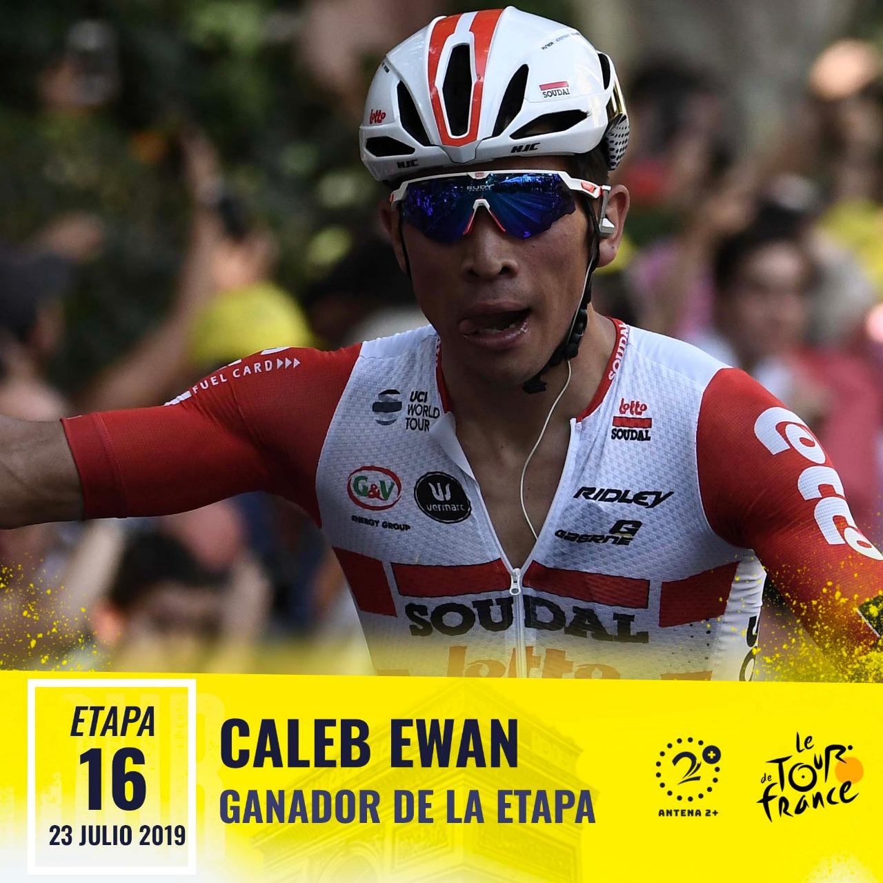 Caleb Ewan - Etapa 16