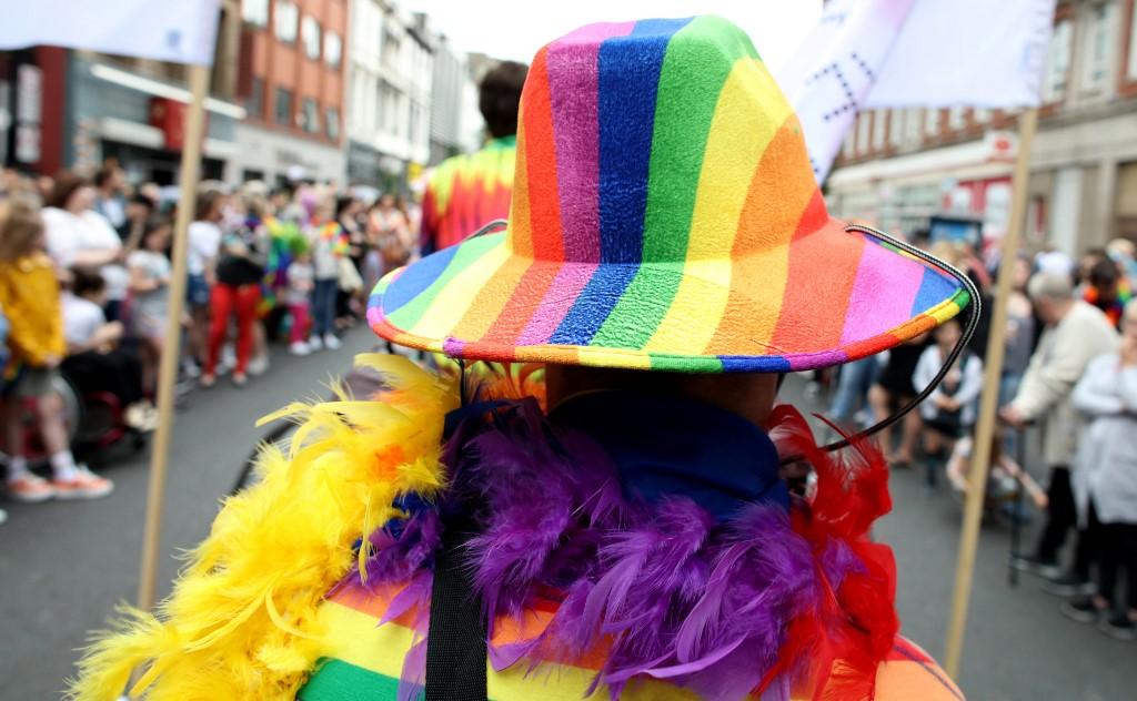 Marcha LGBTI en Irlanda