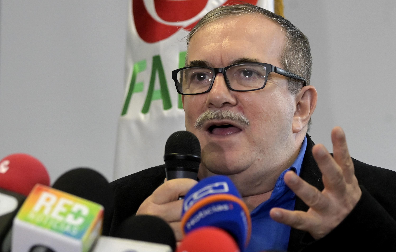 Rodrigo Londoño ('Timochenko'), jefe del partido político Farc.