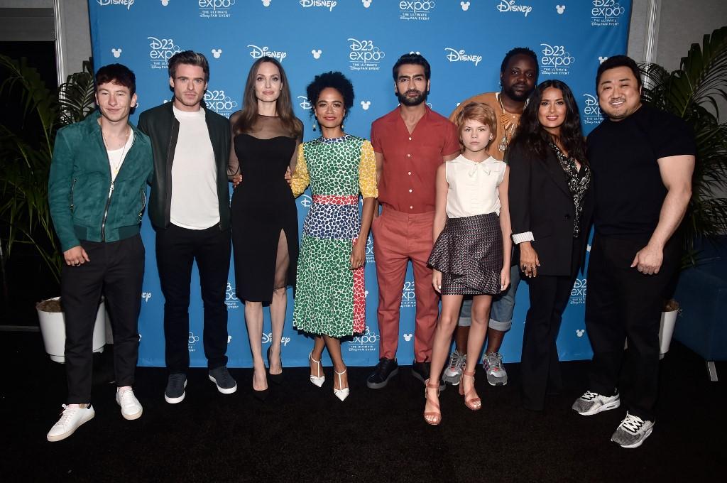 Actores de The Eternals, de Marvel