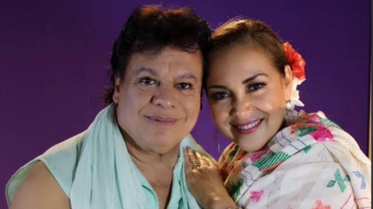Juan Gabriel y Aida Cuevas