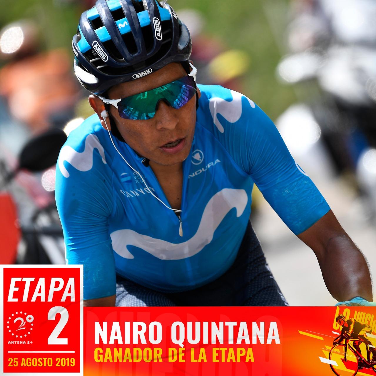 NAIRO QUINTANA - VUELTA A ESPAÑA