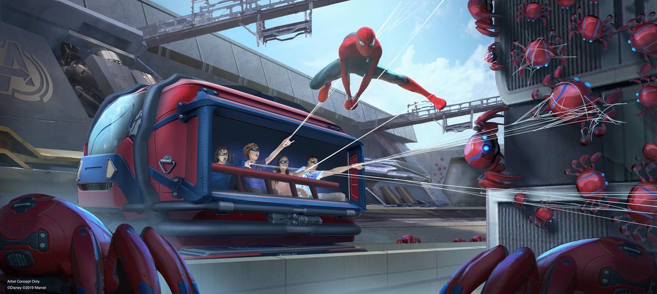 Campus Avengers, zona de Spider-Man