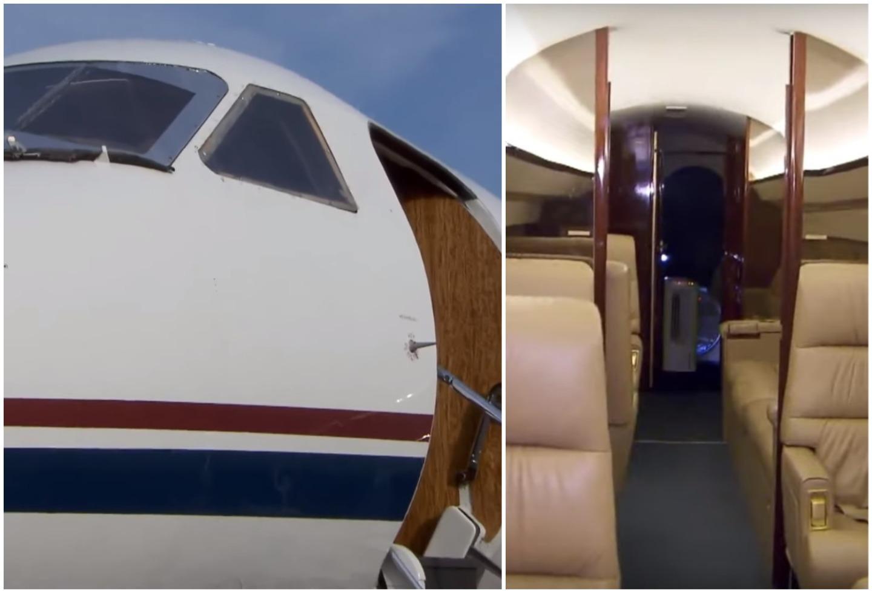Jet privado de Epstein
