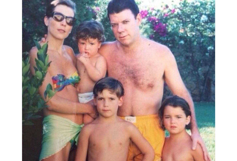 Familia de Juan Manuel Santos