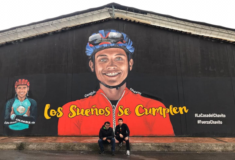 Homenaje Esteban y Brayan Chaves
