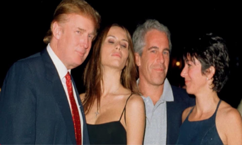 Trump y Epstein