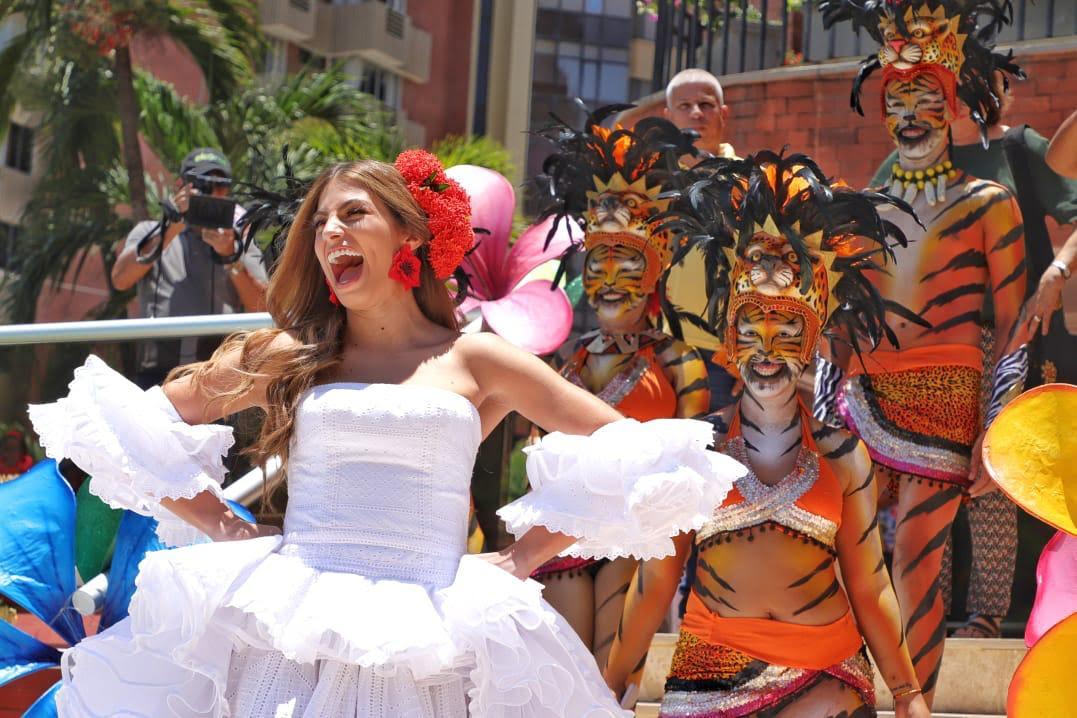 Isabella Chams reina del Carnaval 2020.