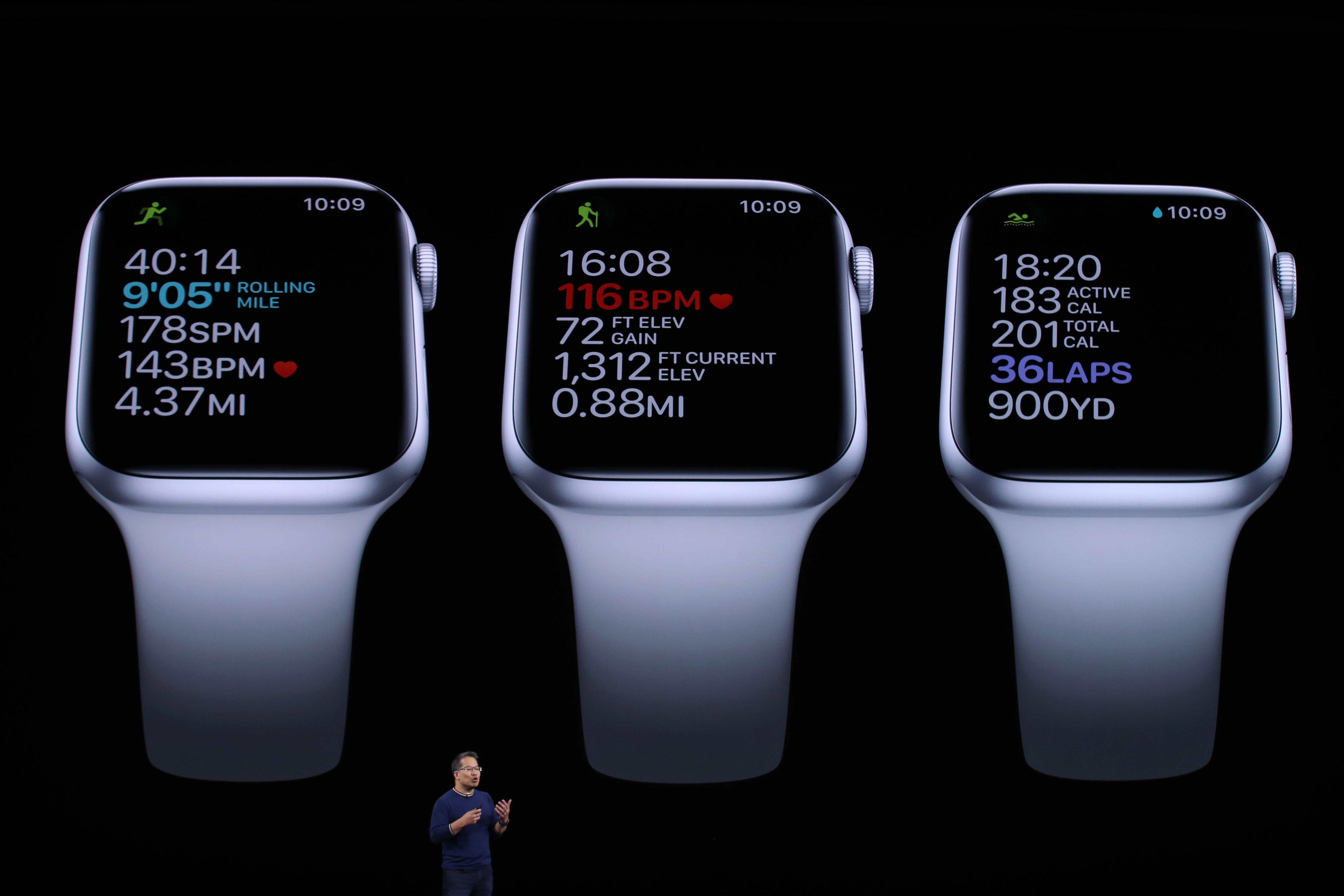 El nuevo Watch Series 5 de Apple.