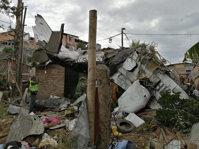 ACCIDENTE DE AVIONETA EN POPAYÁN
