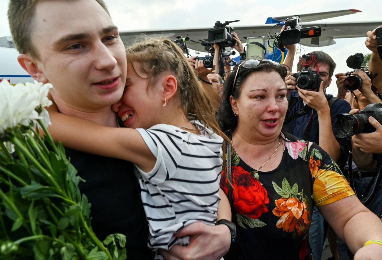 Canje de prisioneros entre Ucrania y Rusia