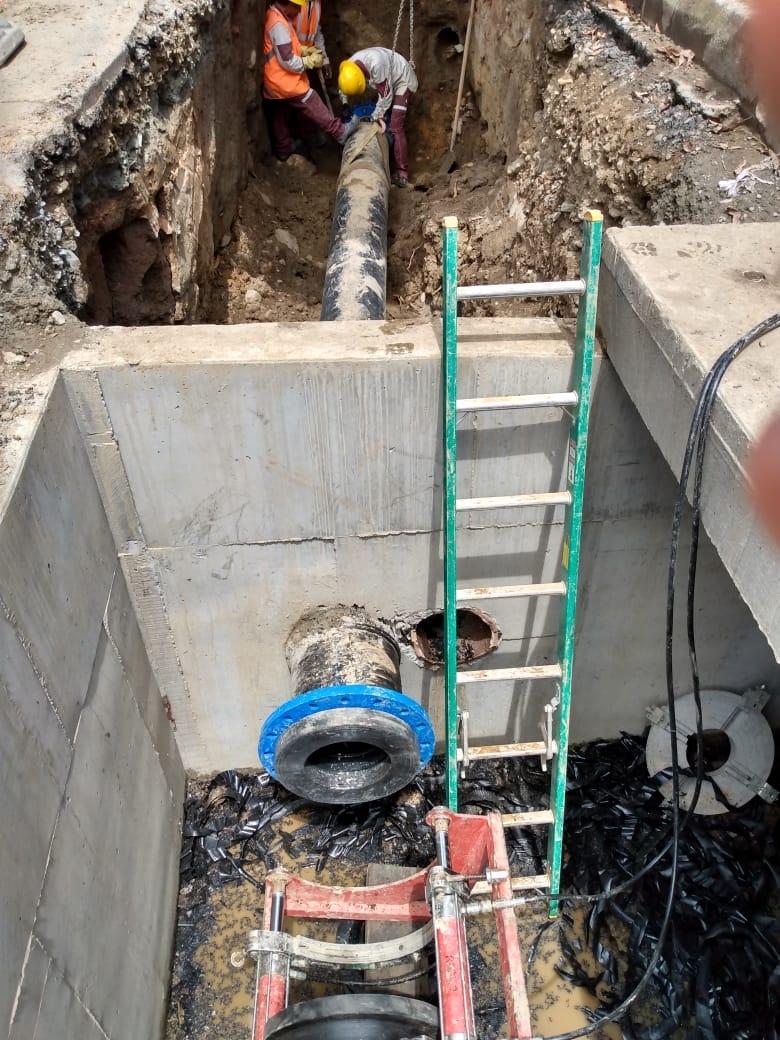 Reparación de tubería en Medellín