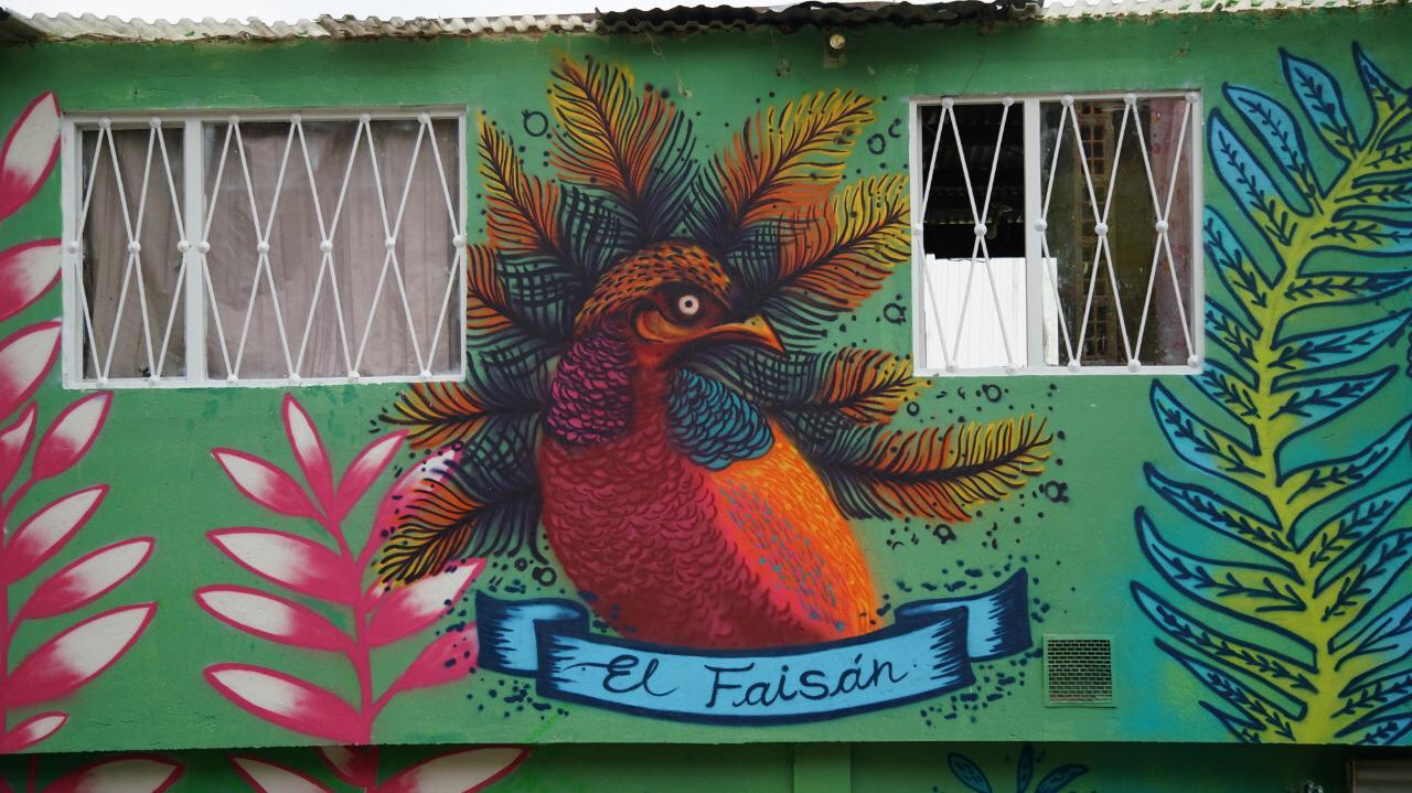 Fachada en la localidad de Usaquén, en Bogotá