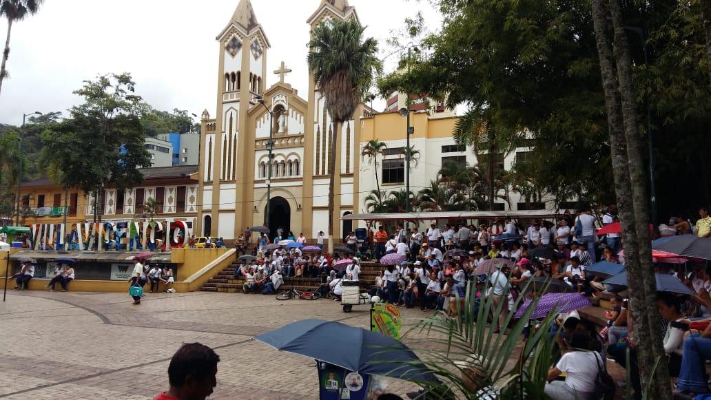 Marchas en Villavicencio