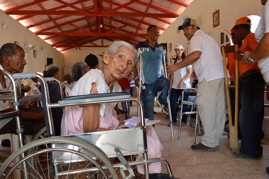 Adultos mayores en Barranquilla, Colombia
