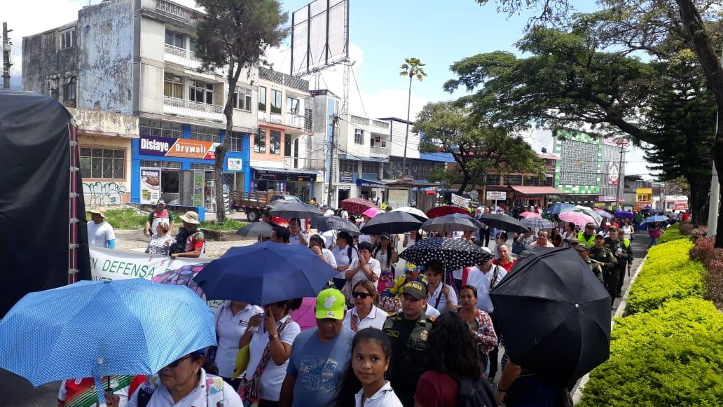Nueva jornada de protestas en Ibagué.